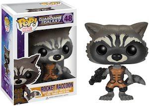 Marvel Guardians of the Galaxy Rocket Raccoon Bobblehead by Funko