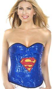 Superman Corset style top