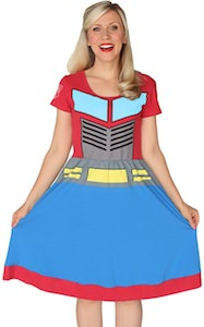 Transformers dress that makes you look like optimus prime