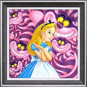 Alice in Wonderland Cheshire Way poster