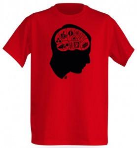 Big Bang Theory Sheldons Brain T-Shirt