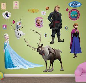 Frozen Wall Decals