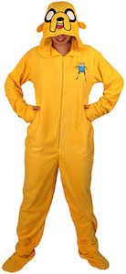 Adventure Time Jake Onesie Pajamas Costume