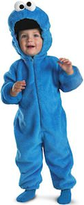 Sesame Street Cookie Monster Toddler And Kids Costume