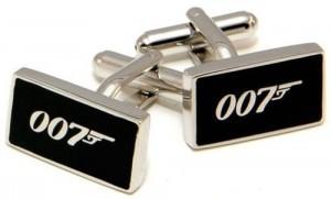 James Bond 007 Rectangle Cufflinks