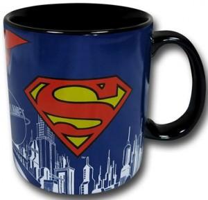 Superman Logo and Picture Mug