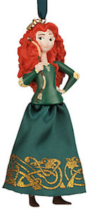 Brave Christmas ornament of merida