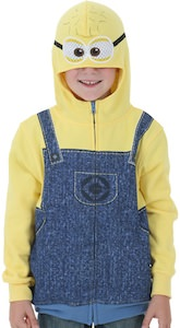 Despicable Me Minion Costume Hoodie