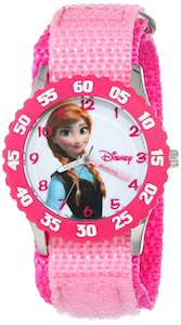 Kids Frozen Watch to learn to read time