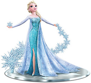 Frozen Elsa Let It Go Figurine