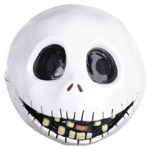 Jack Skellington Full Head Latex Mask