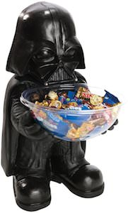 Darth vader trick or treat candy bowl
