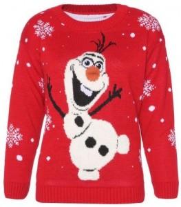 Frozen Olaf Women's Christmas Sweater