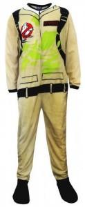 Ghost Busters Uniform Footie Pajamas