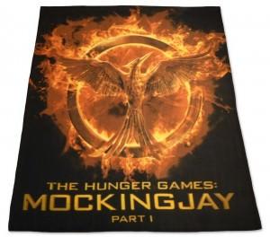 The Hunger Games Mockingjay Part 1 Fleece Blanket