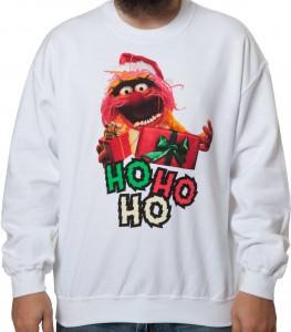 Muppets Animal Ugly Christmas Sweatshirt