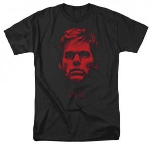 Dexter Blood Red Face T-Shirt
