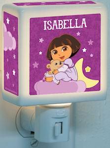 Dora The Explorer Personalized Night Light