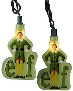 Buddy Elf Christmas Lights