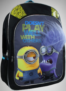 Despicable Me Minion Don't Play Well With Others Backpack