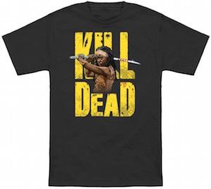The Walking Dead Michonne Kill Dead T-Shirt