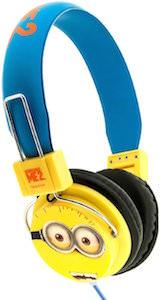 Minion Face Headphones