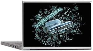 Supernatural 1967 Chevrolet Impala Laptop Decal