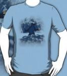 Sesame Street Cookie Monster Sasquatch T-Shirt