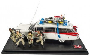 Ecto-1 Hot Wheels Die-Cast Vehicle with Figures