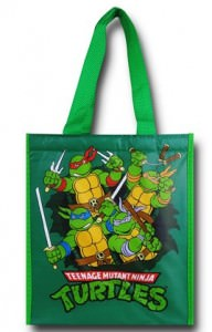 Insulated Reusable TMNT Tote