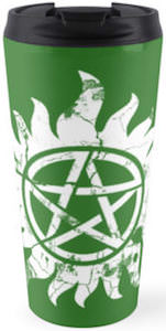 Supernatural Anti Possession Travel Mug