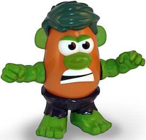 The Hulk Mr. Potato Head Toy
