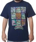 TMNT Retro Characters T-Shirt