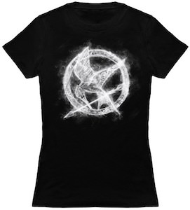 The Hunger Games Smoking Mockingjay T-Shirt