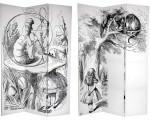 Alice in Wonderland Oriental Partition Screen