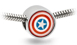 Captain America Bracelet Charm