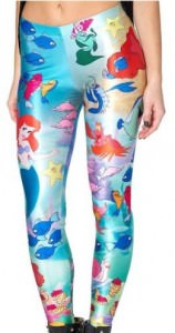The Little Mermaid Under The Sea Leggings