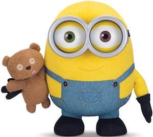 Plush Minion Bob And His Teddy Bear