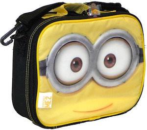 Despicable Me Minion Face Lunch Box
