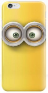 Two Eyes Minion iPhone Case