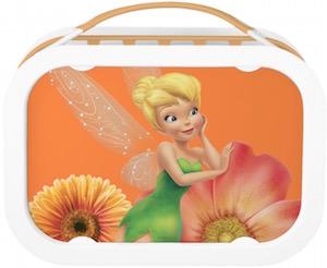 Disney Tinker Bell Orange Lunch Box