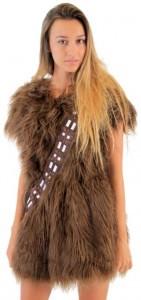 Chewbacca Costume Skater Dress