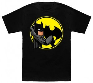 Lounging Arount Batman T-Shirt