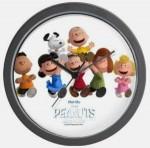 Peanuts Gang Movie Round Wall Clock