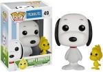Peanuts Snoopy And Woodstock Pop Figurine