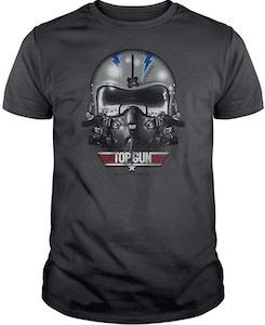 Top Gun Iceman Helmet T-Shirt