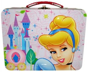 Cinderella Castle Tin Lunch Box