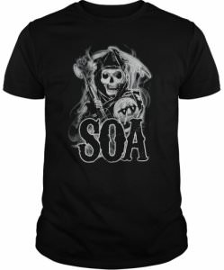 Sons Of Anarchy Smoky Reaper T-Shirt