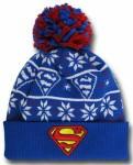 Supergirl Symbol Knit Ugly Sweater Hat