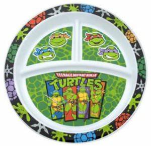 Teenage Mutant Ninja Turtle Divided Plate